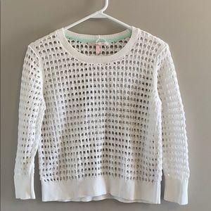 NWOT Victoria's Secret Open Knit Sweater Size S